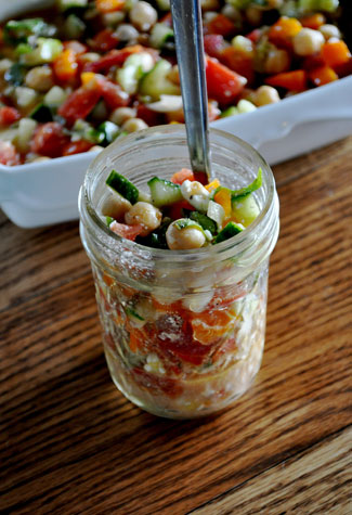 chick-pea-salad