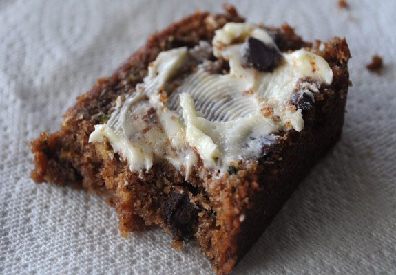 zucchini-bread-with-butter