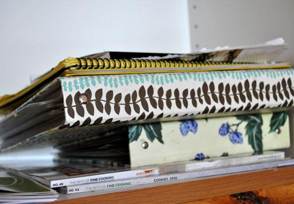 organizing-cookbooks