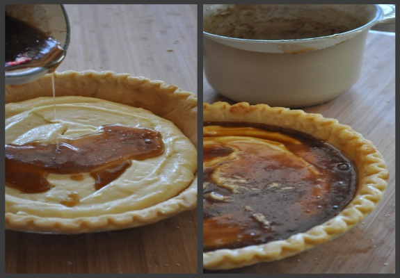 caramel-sauce-snickerdoodle-pie-mountain-mama-cooks-4