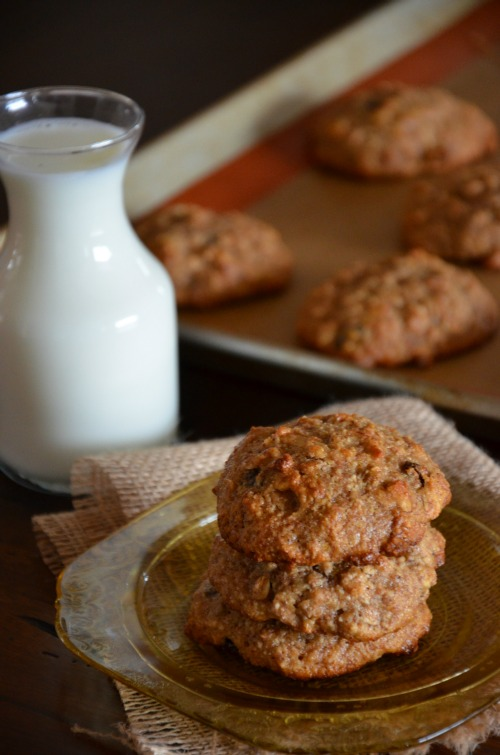 gluten free, dairy free, egg free, breakfast cookies, www.mountainmamacooks.com
