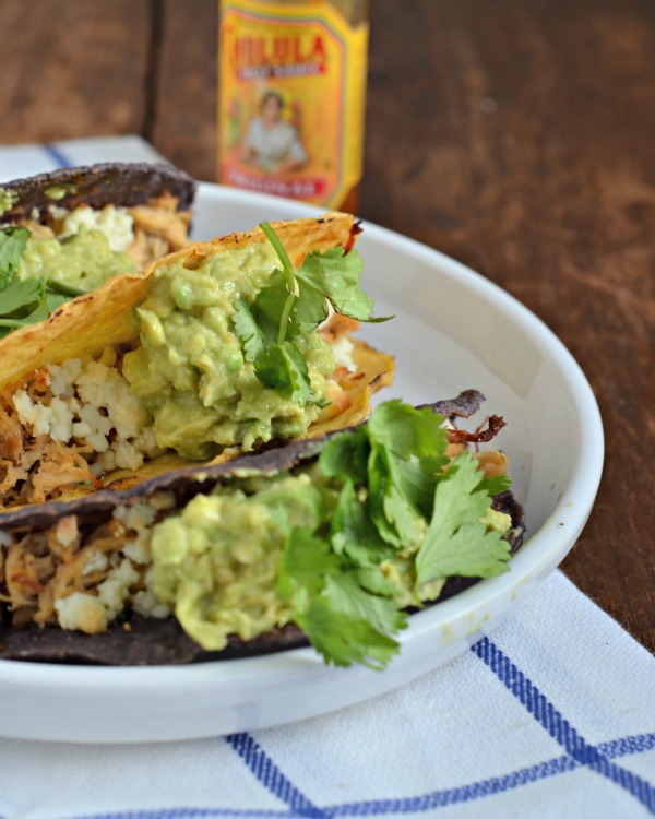 spicy baked chicken tacos, www.mountainmamacooks.com