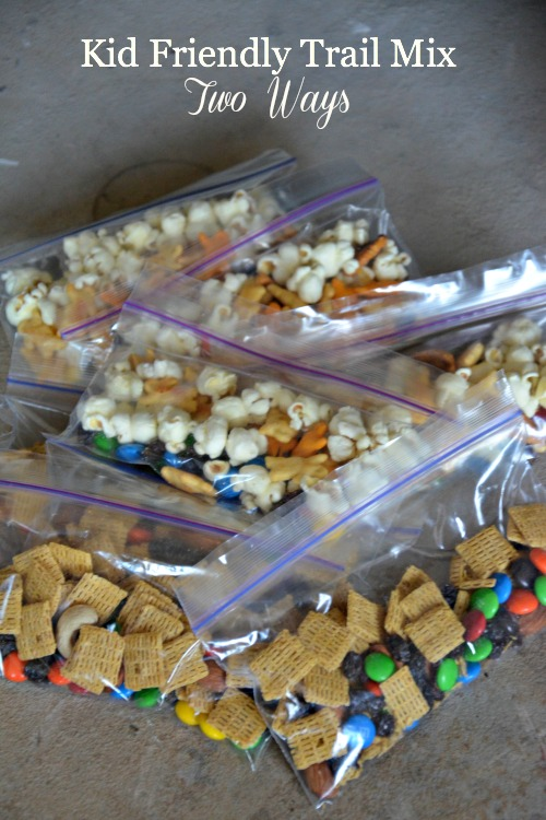 Kid Friendly Trail Mix Two Ways, www.mountainmamacooks.com