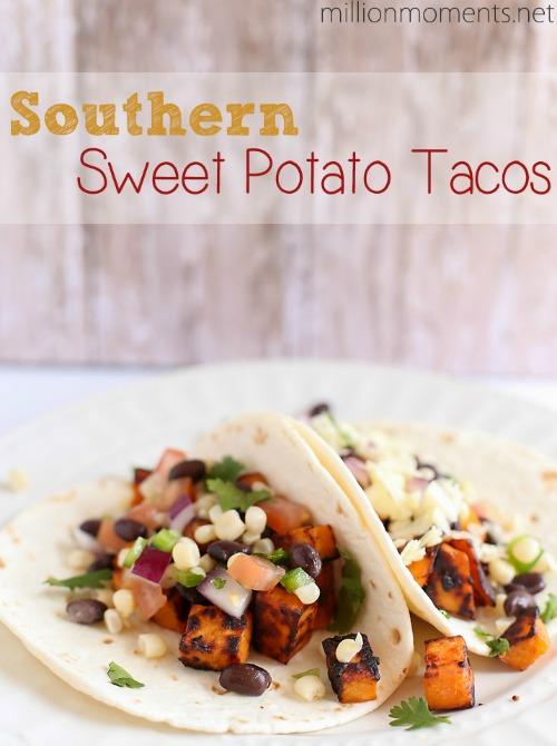 Southwestern Sweet Potato Tacos