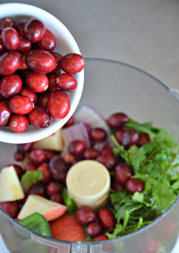 Cranberry Salsa   www.mountainmamacooks.com
