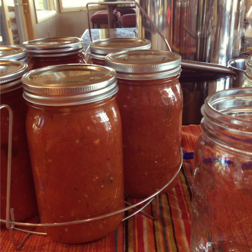 Roasted Tomato Marinara | The Goods | mountainmamacooks.com