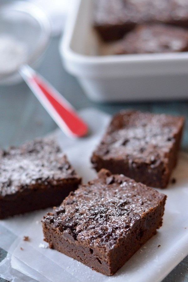 Perfect Fudgy Brownies | mountainmamacooks.com