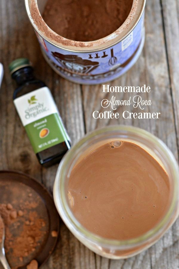Almond Roca Coffee Creamer | mountainmamacooks.com