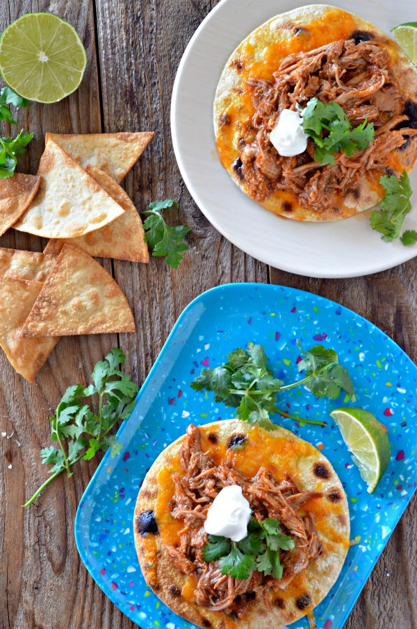 """<img src=""""https://mountainmamacooks.com/wp-content/uploads/2016/10/slow-cooker-pork-tacos-dixie-crystals-2.jpg"""" alt=""""Slow Cooker Sweet Pulled Pork Tacos 