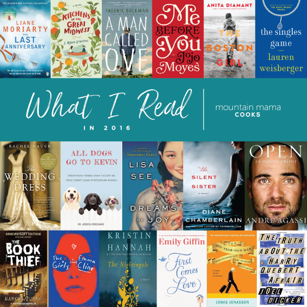 What I read in 2016 | mountainmamacooks.com