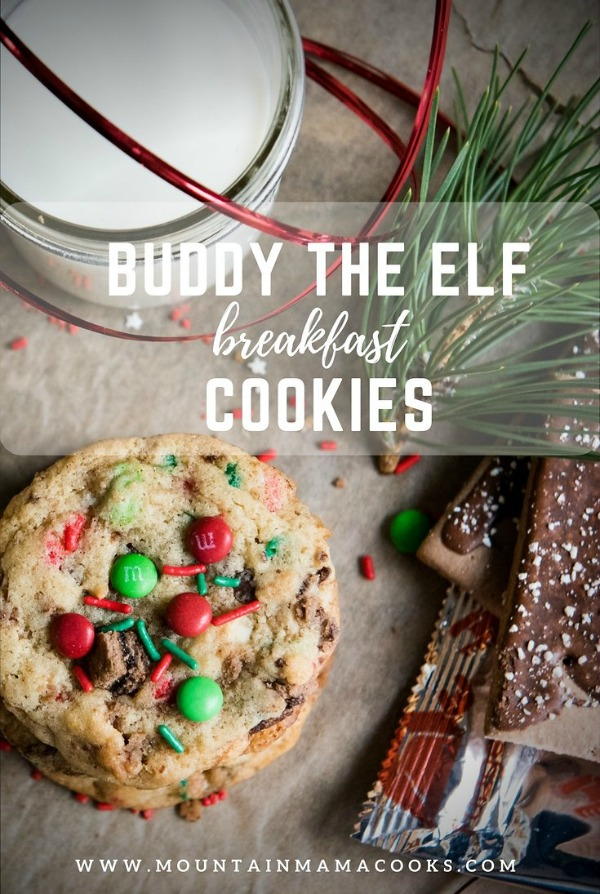 "Buddy the Elf ""Breakfast"" Cookies | www.mountainmamacooks.com"